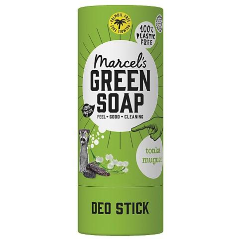 Marcel's Green Soap Plastic Free Deodorant Tonka & Muguet