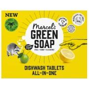Marcel's Green Soap Dishwasher Tablets Grapefruit & Lime