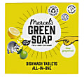 Marcel's Green Soap Dishwasher Tablets Grapefruit & Lime