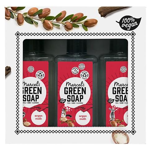 Marcel's Green Soap Gift Box - Argan & Oudh