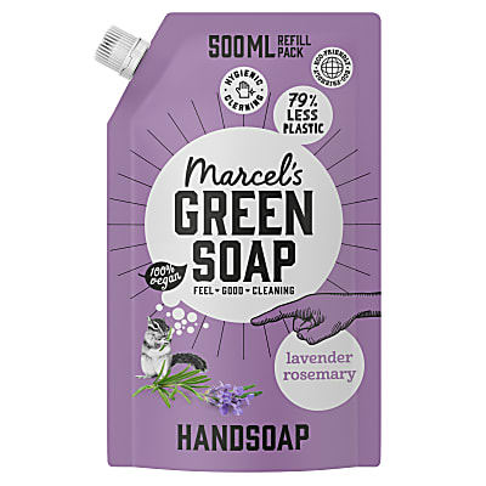 Marcel's Green Soap Hand Soap Lavender & Cloves 1L Refill
