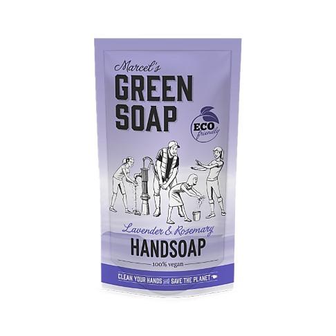 Marcel's Green Soap Hand Soap Lavender & Rosemary 500ml Refill