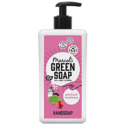 Marcel's Green Soap Patchouli & Cranberry Hand Soap 500ml