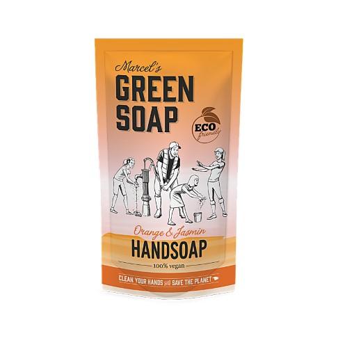 Marcel's Green Soap Hand Soap Orange & Jasmine 500ml Refills