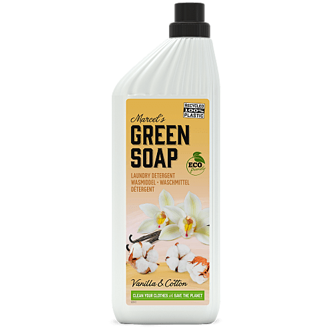 Marcel's Green Soap Laundry Liquid Cotton & Vanilla