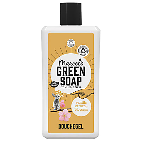 Marcel's Green Soap Shower Gel Vanilla & Cherry Blossom 500ml