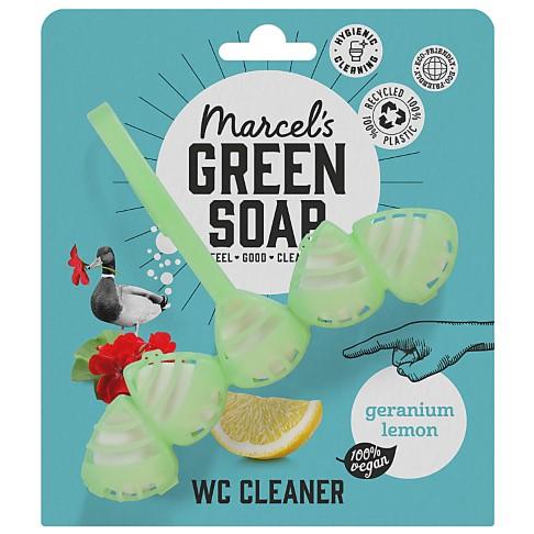Marcel's Green Soap Toilet Block Geranium & Lemon