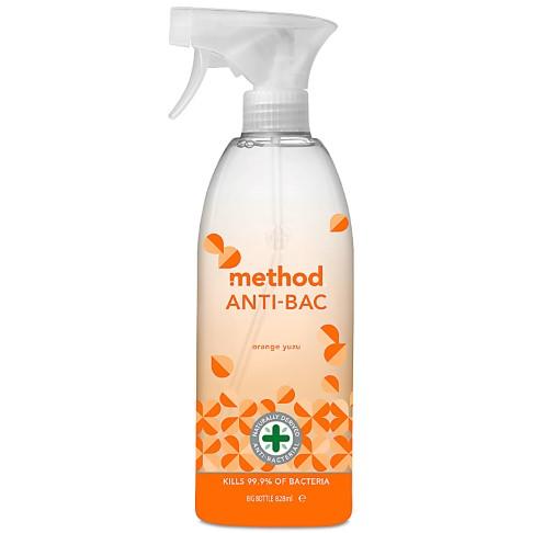 Method Anti-Bac Multi Surface Spray Orange Yuzu