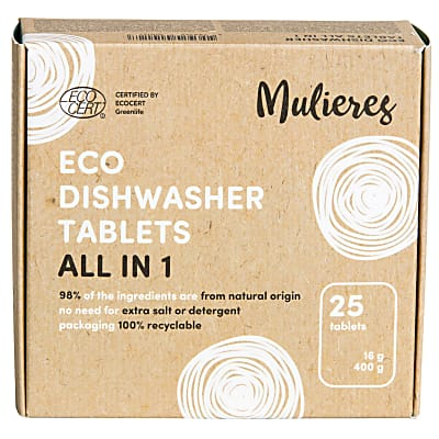 Mulieres Eco All In One Dishwasher Tablets