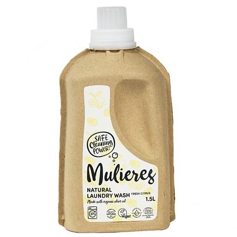 Mulieres Natural Organic Laundry Liquid - Fresh Citrus 1.5L