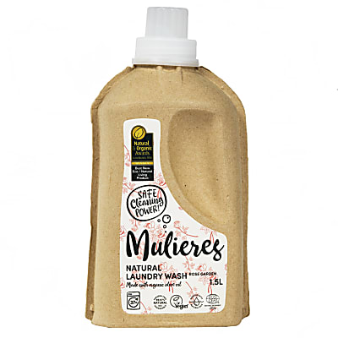 Mulieres Natural Organic Laundry Liquid - Rose Garden 1.5L