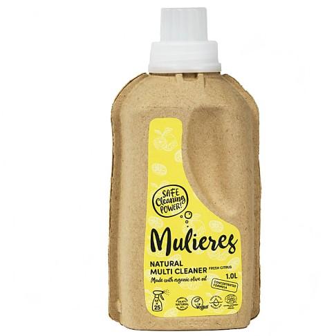 Mulieres Natural Organic Multi Cleaner - Fresh Citrus 1L