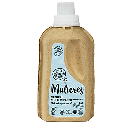 Mulieres Natural Organic Multi Cleaner - Pure Unscented 1L