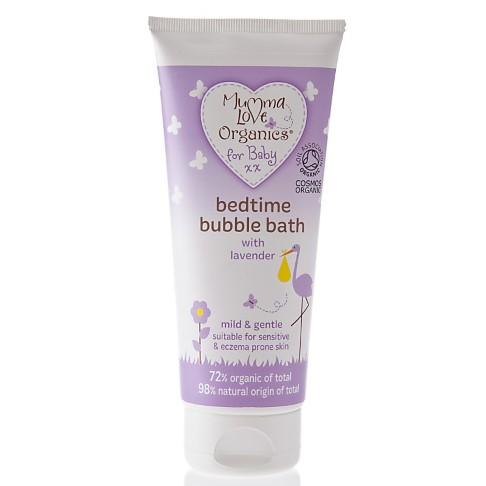 Mumma Love Organics Baby Bedtime Bubble Bath with Lavender