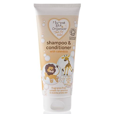 Mumma Love Organics Kids Shampoo & Conditioner with Calendula