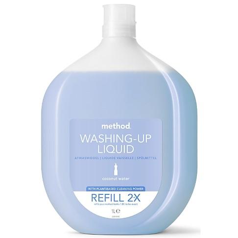 Method Washing Up Liquid Coconut Water Refill
