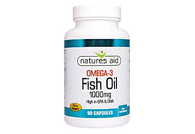 Natures Aid Fish Oil (Omega 3) 1000MG - 270 tablets