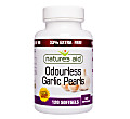 Natures Aid (Odourless) Garlic Pearls - 33% extra free (120 capsules)