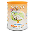 NANNYcare Goat Based Milk - Stage 2 Follow On Milk 900g
