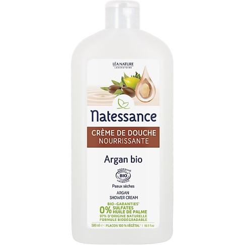 Natessance Sulfate-Free Argan Orange Blossom Shower Gel - 500ml