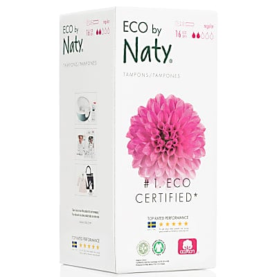 ECO by Naty Regular Tampons with Applicator