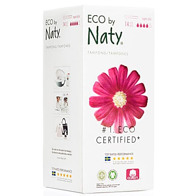 ECO by Naty Super Plus Tampons with Applicator