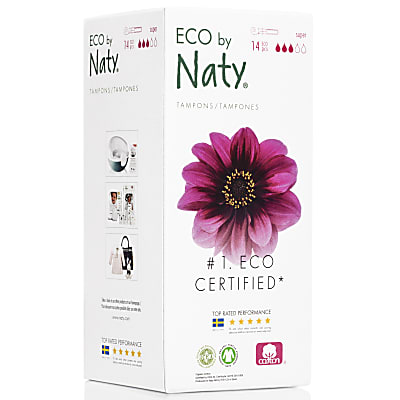 ECO by Naty Super Tampons with Applicator