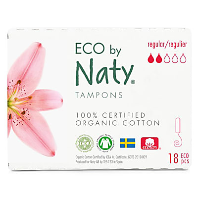 ECO by Naty Tampons - Regular