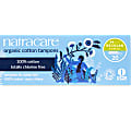 Natracare Organic Cotton Non-Applicator Tampons (packs of 20)