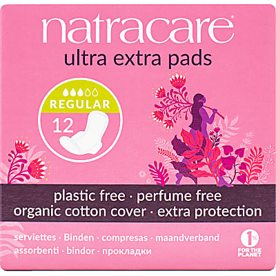Natracare Natural Ultra Extra Pads (Normal, Long & Super)