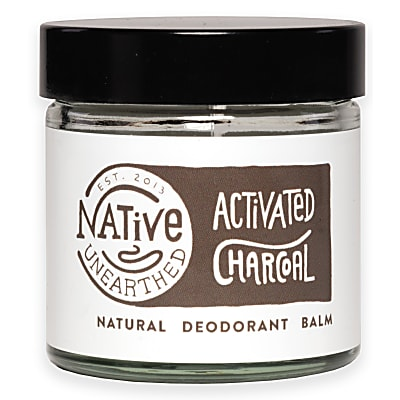 Native Unearthed Natural Deodorant Balm - Charcoal
