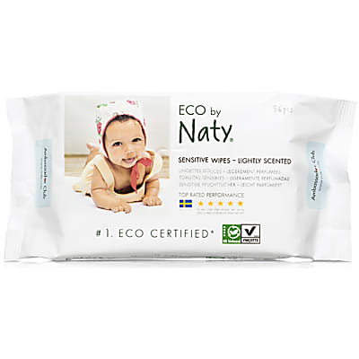 ECO by Naty Sensitive Baby Wipes - Lightly Scented