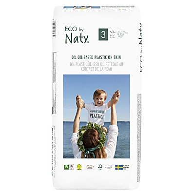 Naty by Nature Babycare Nappies: Size 3 Economy Pack