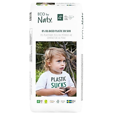 ECO by Naty Nappies: Size 4+ Economy Pack