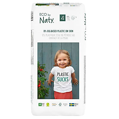 ECO by Naty Nappies: Size 4 Economy Pack