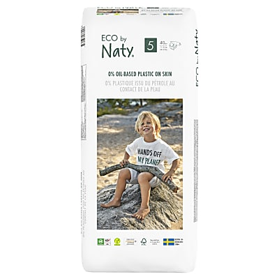 ECO by Naty Nappies: Size 5 Economy Pack