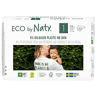 Naty by Nature Babycare Nappies: Size 1 Newborn