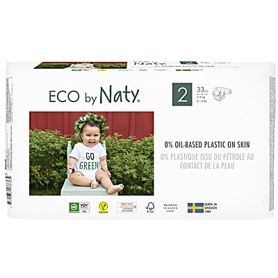 ECO by Naty Nappies: Size 2