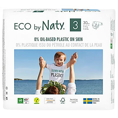 ECO by Naty Nappies: Size 3