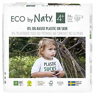 ECO by Naty Nappies: Size 4+