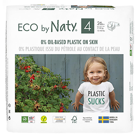 Naty By Nature Babycare Nappies Size 4