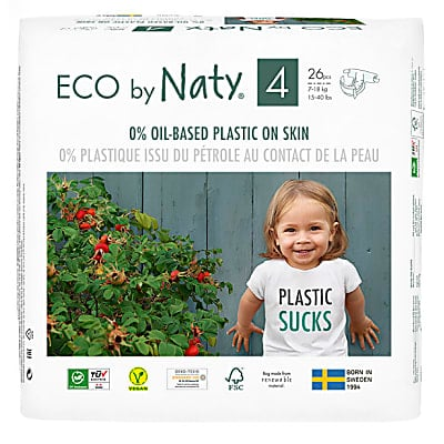 ECO by Naty Nappies: Size 4