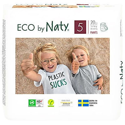 Naty by Nature Babycare Pull Up Pants: Size 5 Junior