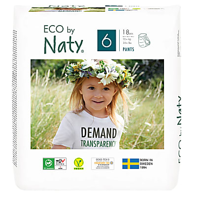 Naty by Nature Babycare Pull Up Pants: Size 6 X-Large