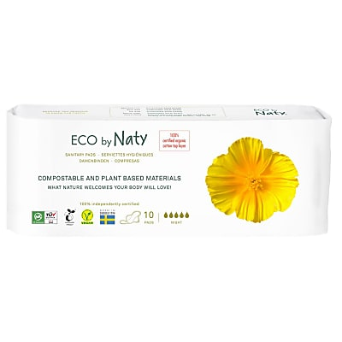 ECO by Naty Sanitary Towel - Night time