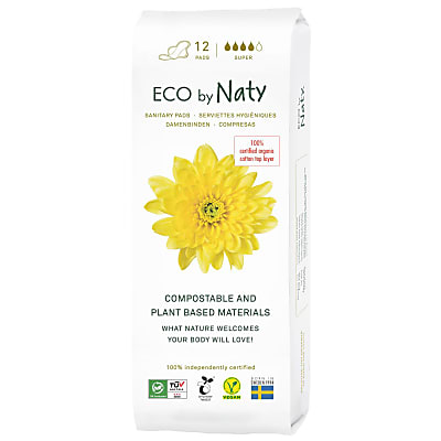 ECO by Naty Sanitary Towel - Super