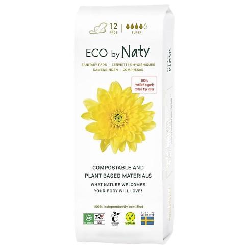 ECO by Naty Sanitary Towel - Super