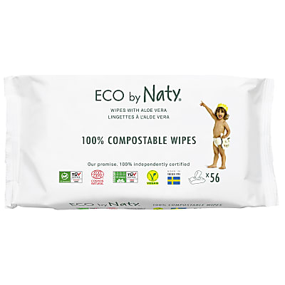 ECO by Naty - Sensitive Wipes with Aloe