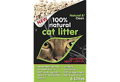 Natural & Clean - 100% Natural Cat Litter