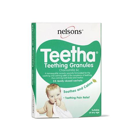 Nelsons Teetha® - Teething Granules (24 sachets)